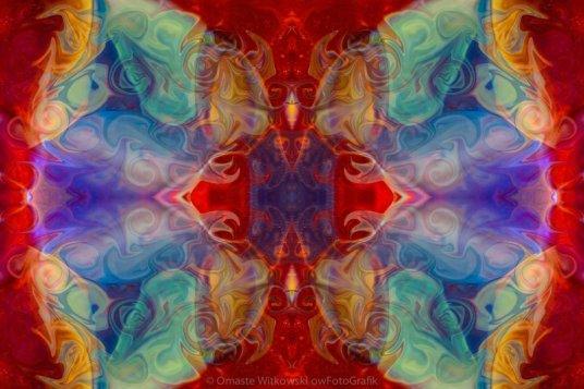 Dimensional Realities Abstract Pattern Artwork by Omaste Witkowski owFotoGrafik.com