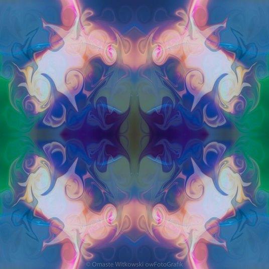 Merging Fantasies Abstract Pattern Artwork by Omaste WItkowski owFotoGrafik.com