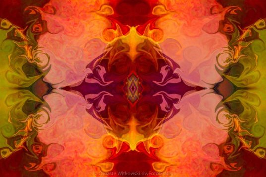 Multilayered Realities Abstract Pattern Artwork by Omaste Witkowski owFotoGrafik.com