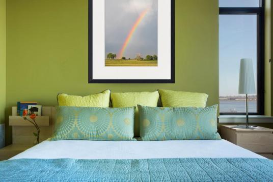 Chasing Rainbows Art Print