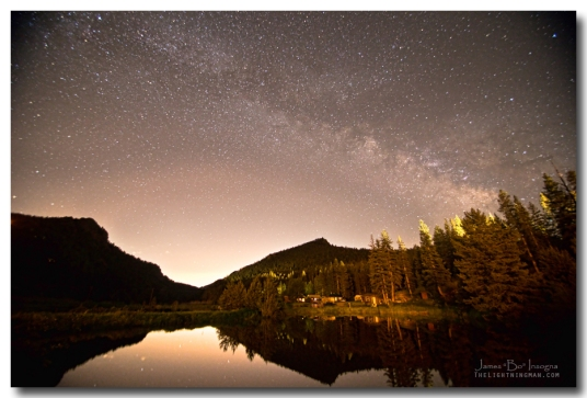 Rural Colorado Rocky Mountain Milky Way View Art