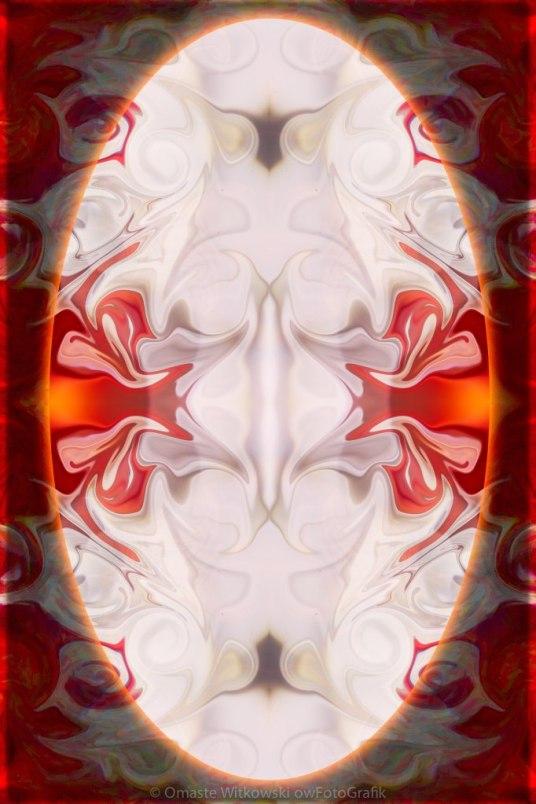 Innocence And Vibrant Life Abstract Mandala Artwork by Omaste Witkowski owFotoGrafik.com