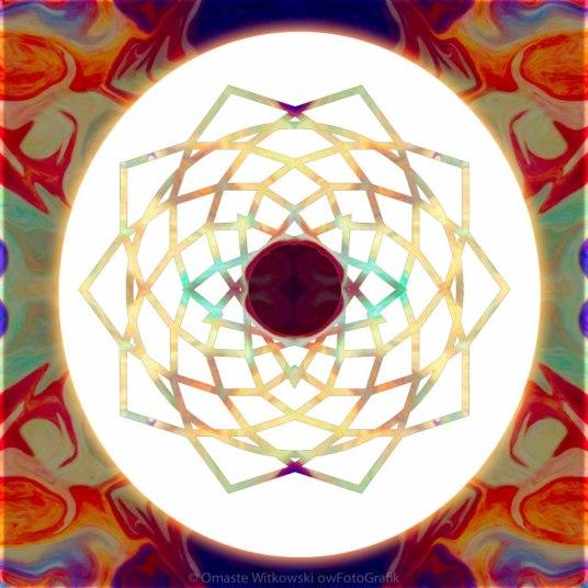 1000 Petalled Lotus Abstract Chakra Art by Omaste WItkowski owFotoGrafik.com_