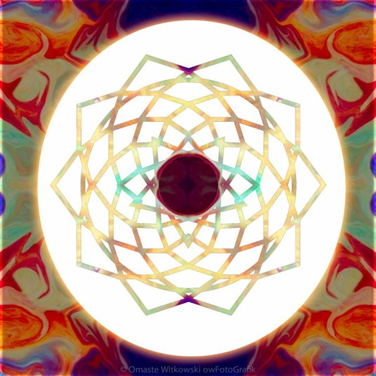1000 Petalled Lotus Abstract Chakra Art by Omaste WItkowski owFotoGrafik.com_