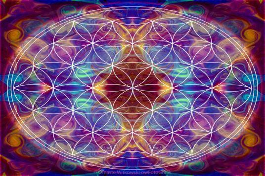 Sahasrara Abstract Chakra Art by Omaste Witkowski owFotoGrafik.com