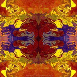 Embracing Transition Abstract Healing Artwork Omaste Witkowski owFotoGrafik.com