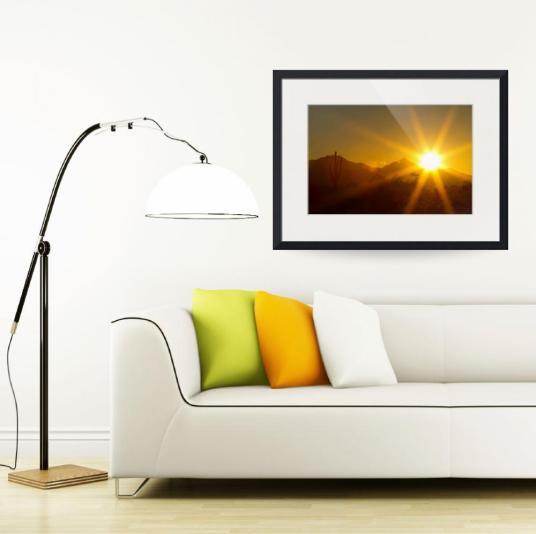 Arizona Sun Fine Art Print