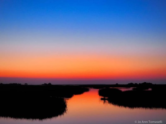 blue hour sunrise sunset image art