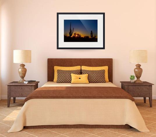 Just Another Sonoran Desert Sunrise Art Print