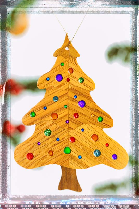Buy Holiday Christmas Tree Ornament Image Art Online