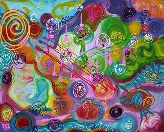 Seeking Happiness by Laura Barbosa - display
