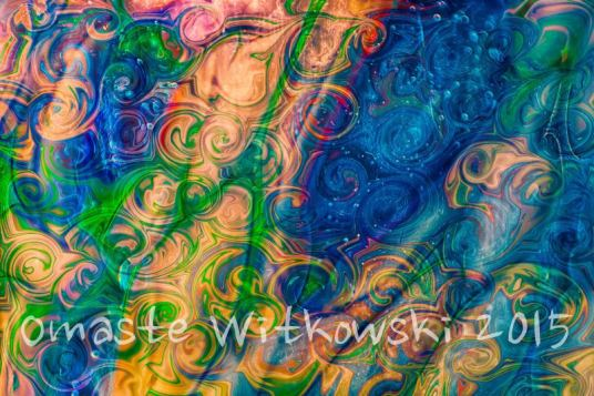 Underwater Whimsy Textured Abstract by Omaste Witkowski owFotografik.com