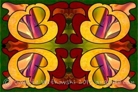 Conscious Cooperations Abstract Art by Omashte