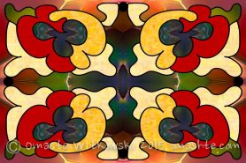 MultiDimensional Directions Abstract Art by Omashte