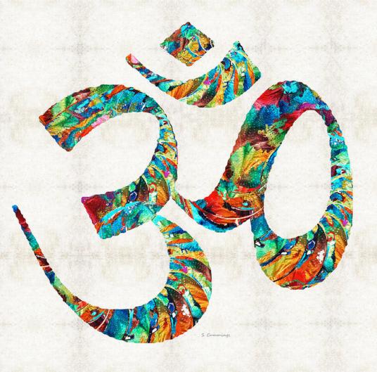 om meditation art